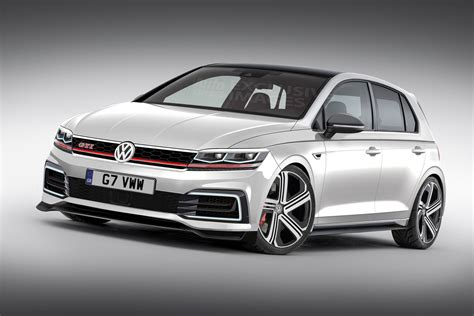 New Vw Golf Gti Mk8 On Sale In 2019 With Big Power Boost