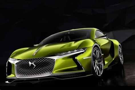 Ds E-tense Electric Sports Car Concept