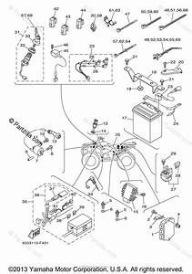 Yamaha Atv 2008 Oem Parts Diagram For Electrical