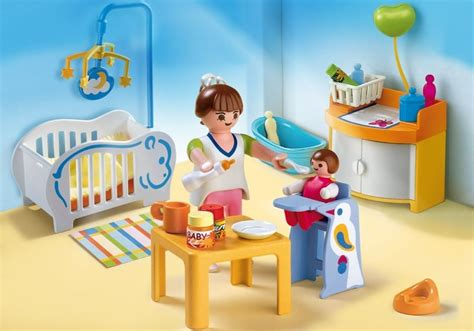 playmobil chambre des parents playmobil set 4286 baby room klickypedia