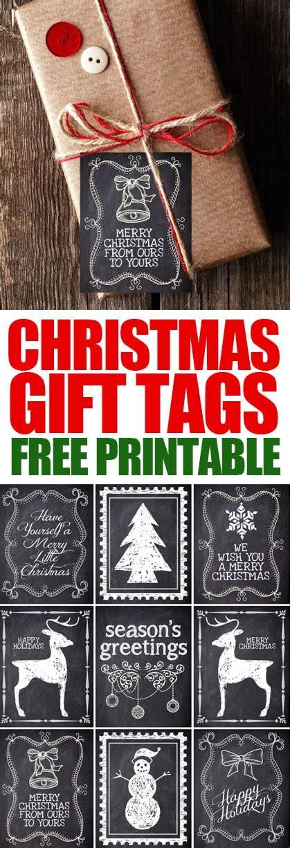 christmas chalkboard labels  printable   nest