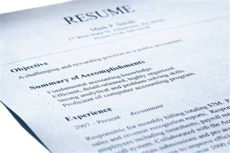 10 things you should remove from your resume
