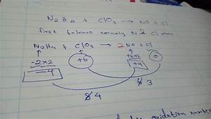 How To Balance The Redox Reaction N2h4 Clo3-