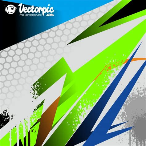 racing stripe strike abstract background  vector