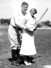Babe Ruth and His Wife