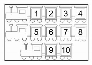 Kindergarten Worksheets Numbers 1 10 - writing numbers 1 ...