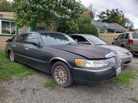 lincoln town car  sale  tacoma wa offerup