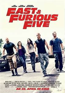 "POSTER: ""Fast & Furious Five"" Gets Tougher | FLIX | CRITIC"