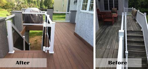 deck construction media patio installation contractors