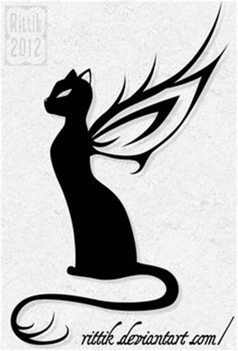 Black cat silhouette for your design   Black cat tattoos