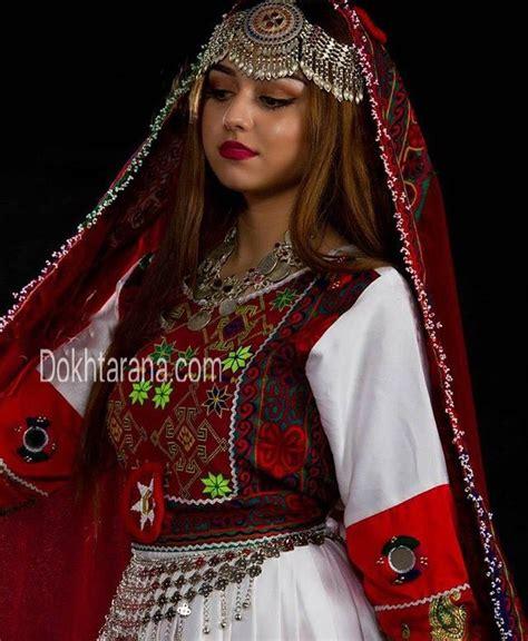 #Afghan #red #white #dress #girl #afghan dress #afghan
