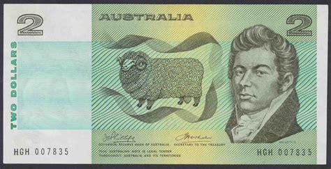 australian  dollar  paper note phillipswheeler   ef