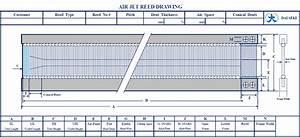Dai Seki Co   Ltd  Dai Seki Reed Wire Air Jet Reed Flat