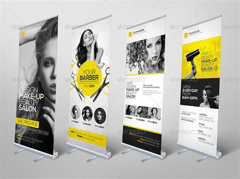 15 latest ready made roll up print templates