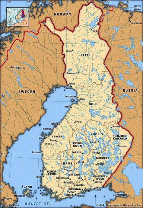 finland map cities northern tourist maps oulu destinations travel europe finnish turkey satellite guide region info victor steel worldmap1 socialized