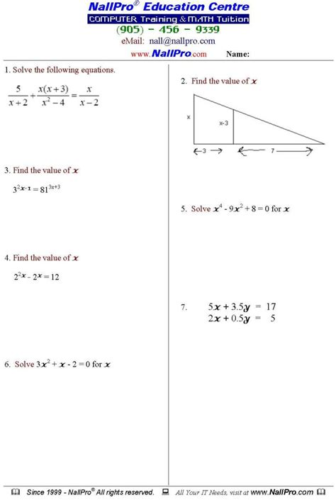 grade 12 math worksheets and answers 12th grade math worksheets free worksheets library