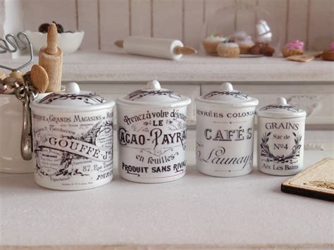 fashioned kitchen canisters fashioned kitchen canisters 28 images dollhouse miniature vintage french kitchen metal