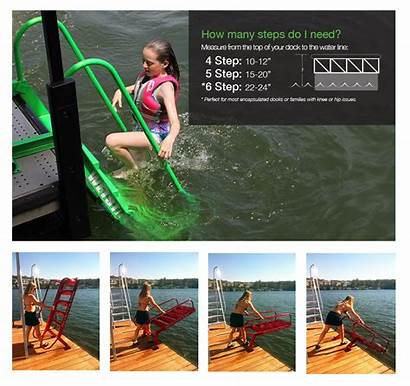 Dock Wet Ladders Steps Lake Ladder Water