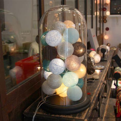 guirlande lumineuse chambre guirlande lumineuse 20 boules en coton longueur 5m atelier