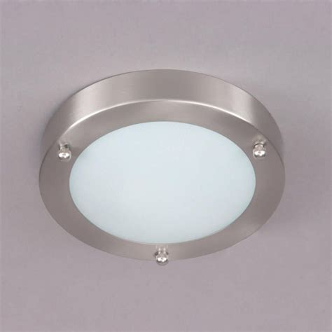 mari flush bathroom light satin nickel  litecraft