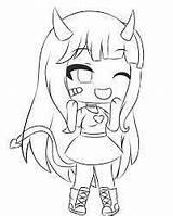 Gacha Coloring Printable Kawaii Anime Tomboy Dibujos Chibi Mewarnai Wolf Characters Drawing Gambar Coloriage Dessin Google Draw Colouring Drawings Sheets sketch template
