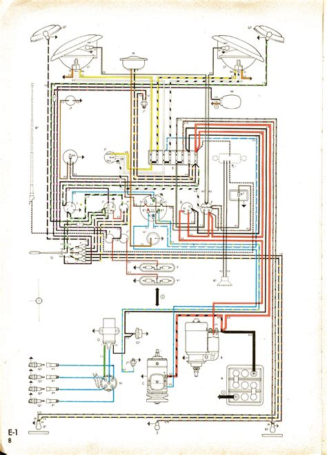 Vw Bu Diagram by Wiring Loom On 1963 Italian Kombi Advice The