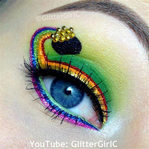 st patricks day makeup  glittergirlc