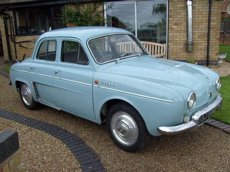 renault dauphine for sale 1964 renault dauphine gordini sold car and classic
