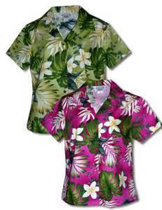 Hawaiian Tropical Shirt Women