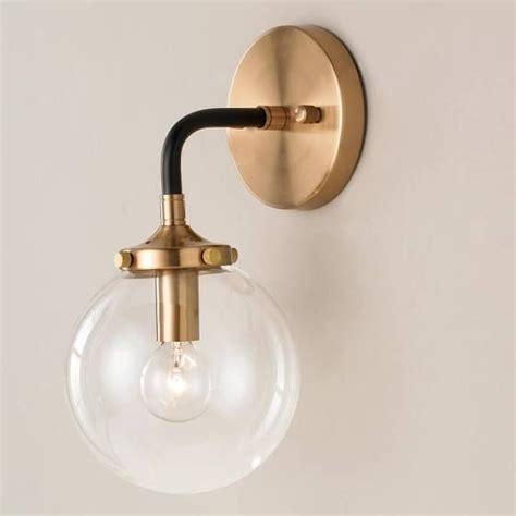 Glass Light Sconces by Black Bathroom Sconce Bathroom Modern Sconces