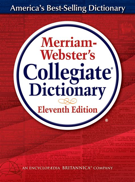 buy merriam websters collegiate dictionary eleventh edition