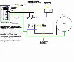 Air Compressor 120v Single Phase Motor Wiring Diagram