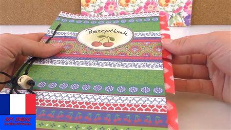 faire un livre de cuisine fabriquer un livre de recettes pratique cahier avec