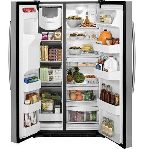 ge energy star  cu ft side  side refrigerator gsegsh  appliances