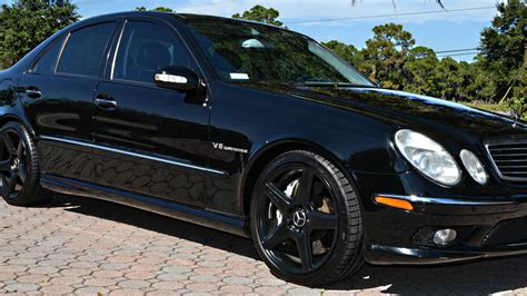 You Can Buy This 500 Hp Mercedes E55 Amg For The Price Of