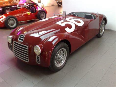 A rare breed of ferrari, only three of these cars were ever made. 1947 Ferrari 125 S First Ferrari ever built. | TotallyCARS.club