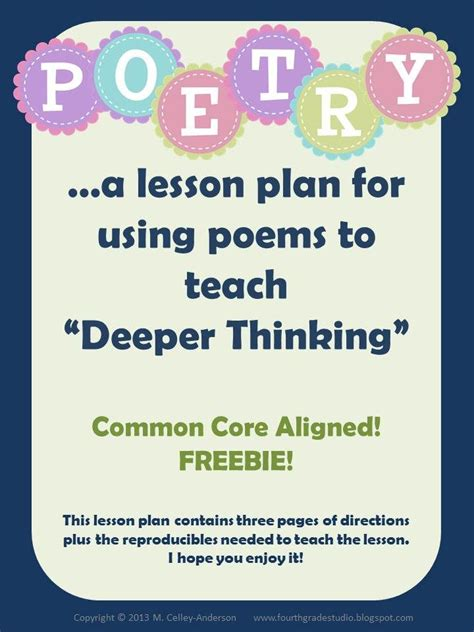 25 best ideas about 5th grade poetry on
