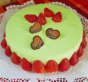 Torte Mit Frischkäse : waldmeister frischk se torte mit erdbeeren rezept mit ~ Lizthompson.info Haus und Dekorationen