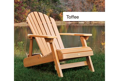 adirondack size all weather chair sharper image
