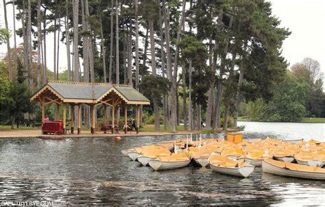 le chalet du lac boulogne bois de boulogne photos d automne dans les bois