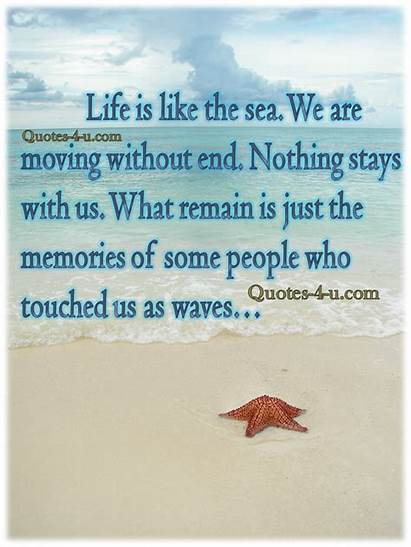 Sea Quotes Waves Moving End Without Quote