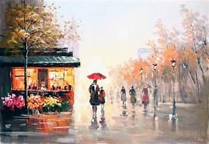 Tableau Peinture Sur Toile : peinture tableau sur toile 4 ~ Teatrodelosmanantiales.com Idées de Décoration
