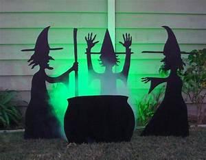 Halloween, Witches, Yard, Decoration