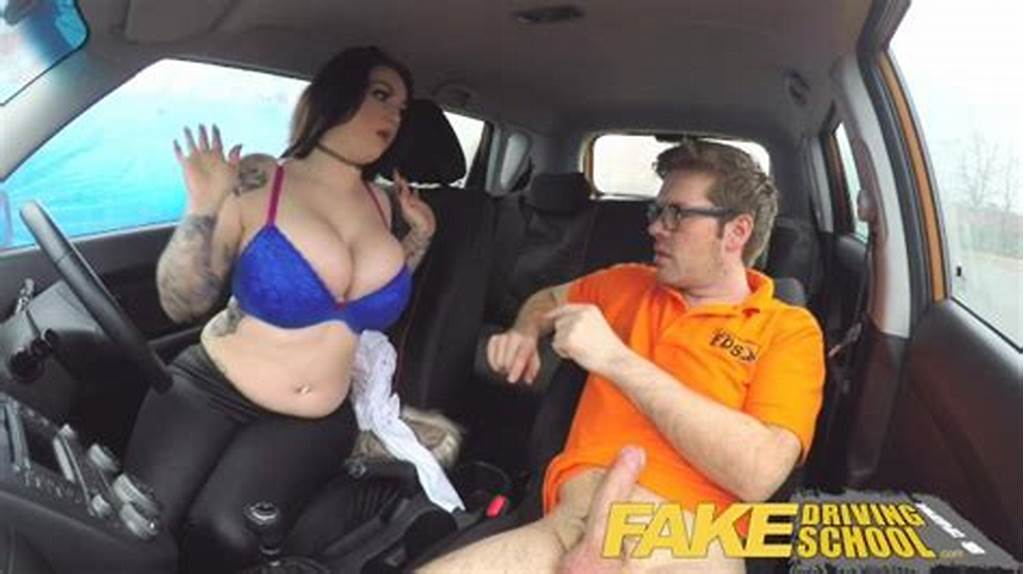 #Fake #Driving #School #Busty #Jailbird #Takes #Instructor #On #A