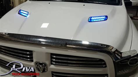 Ram LED vent lights   YouTube