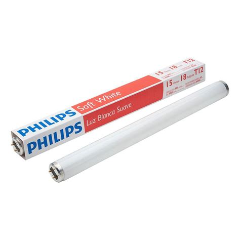philips 18 in t8 15 watt daylight 5000k linear