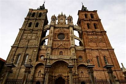 Astorga Cathedral Pindia Spain Church Turista Accidental