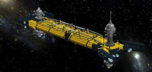 LEGO Ideas - The USS Cygnus in Space