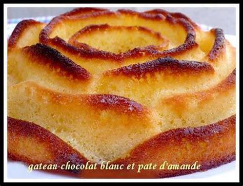 recette de gateau chocolat blanc et pate d amande