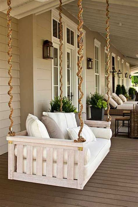 beautiful outdoor porch swing homemydesign